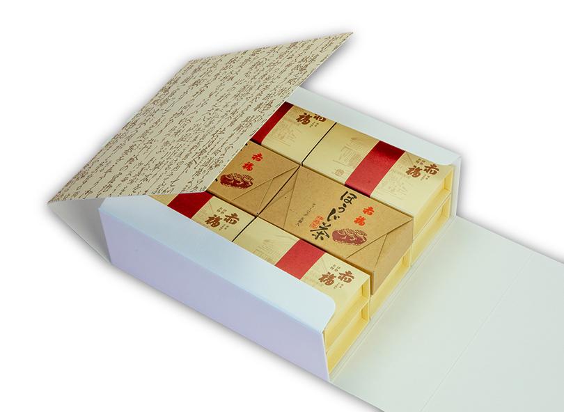 赤福とほうじ茶詰合せ(中)