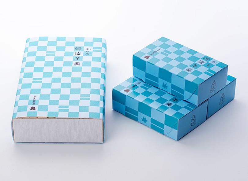 季の菓 清流羊羹(鮎・新緑)3箱入 ※
